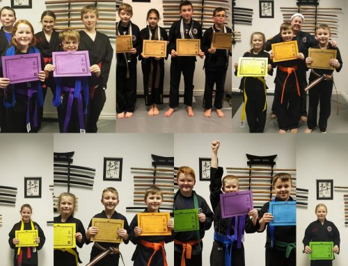 December  Junior Gradings
