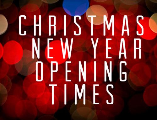 Xmas & New Year Opening times